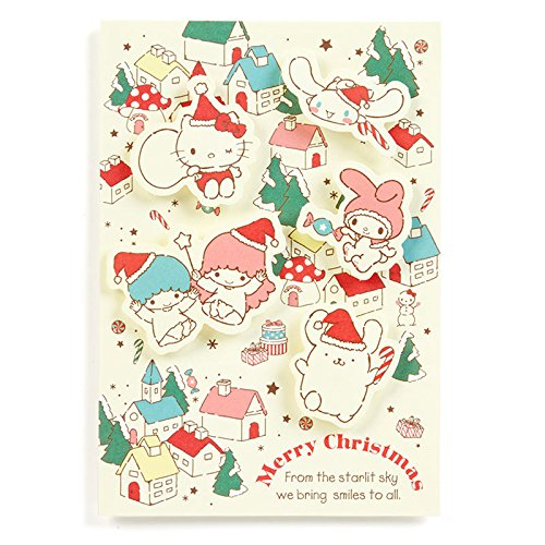 Sanrio Sanrio Characters Christmas card Town From Japan (Tv Character Costumes Nz)