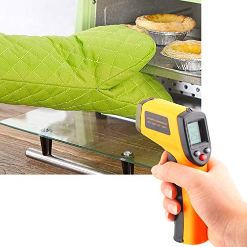 SUJING Non-contact Digital Laser Infrared Thermometer Temperature Gun -50 to 330℃ (-58 to 626F) Handheld IR Infrared Thermometer