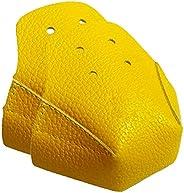 1 Pair Roller Skate Toe Cap Guards Protectors, Artificial Roller Skates Leather Cap Protectors for Quad Roller