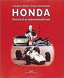img - for Honda: Portrait of an International Brand by Clauspeter Becker (2000-07-15) book / textbook / text book