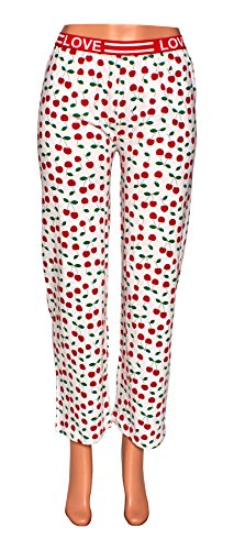 Red And White Striped Pants - 5