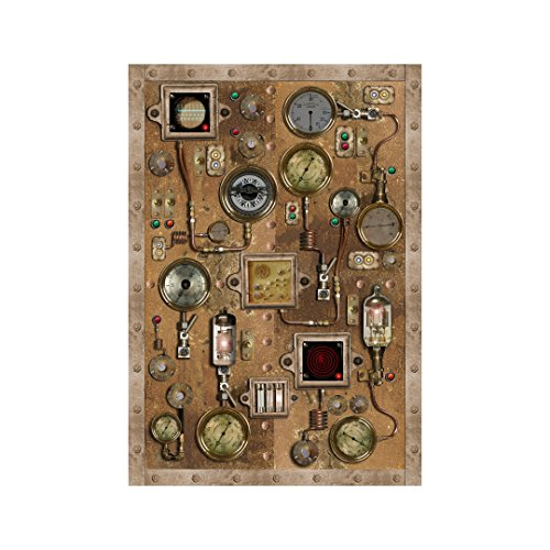 Steampunk Control Panel - Design 1 - Wall Decal