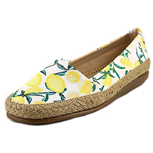 Aerosoles Womens Solitaire Closed Toe Espadrille Flats, Yellow, Size 6.0