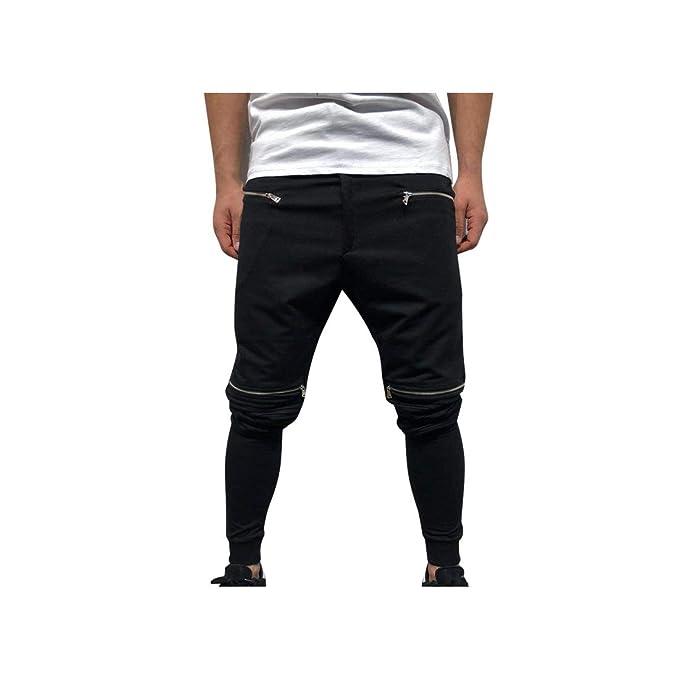 Amazon.com: An Ping - Pantalones de deporte para hombre con ...