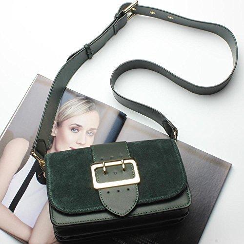Aoligei Tendance cuir sac à main fashion occasionnels épaule unique oblique span vachette lady sac C