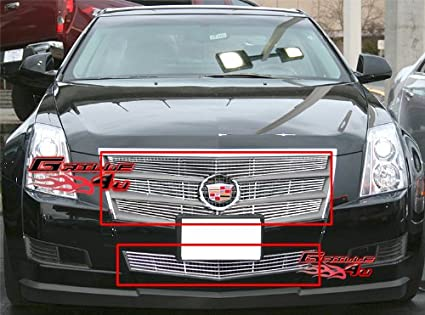 APS Fits 2008-2011 Cadillac CTS Billet Grille Grill Combo #A61011A