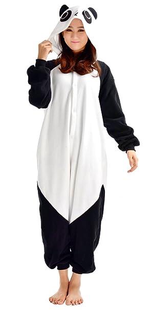 Pijama Oso Panda Niño Niña Animal Cuerpo Entero Mujer Familiar Navidad Halloween Disfraz