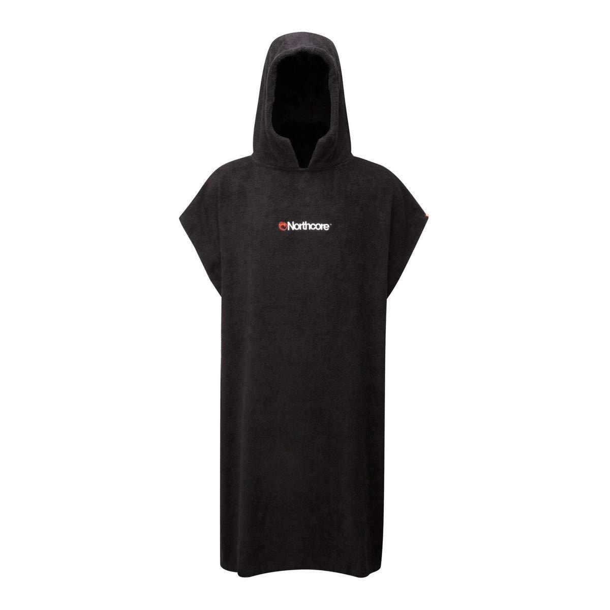 Black Northcore Beach Basha Changing Robe