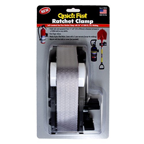 Quick Fist Ratchet clamp for mounting Tools & Equipment 1/2