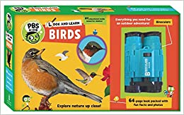 Book Look and Learn Birds (PBS Kids)