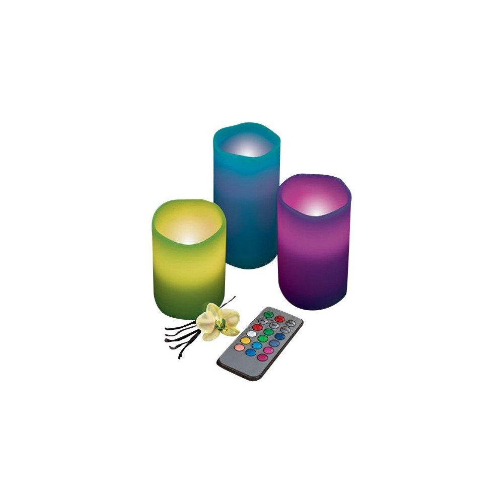 EmotiCandle LED Kerzen 3er Pack