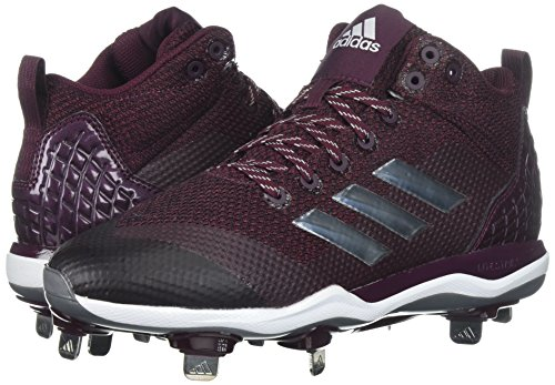 Silver Poweralley Da Adidas 5 Met Ftwr Uomo Mid Maroon White Performancepoweralley qwtp0g