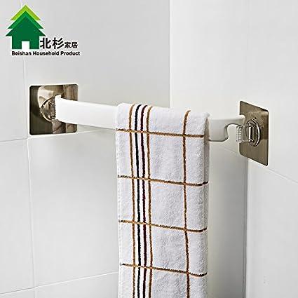 Toallero succión fuerte sin marcas fijadas para rotar las toallas de cocina cuarto de baño adjunto