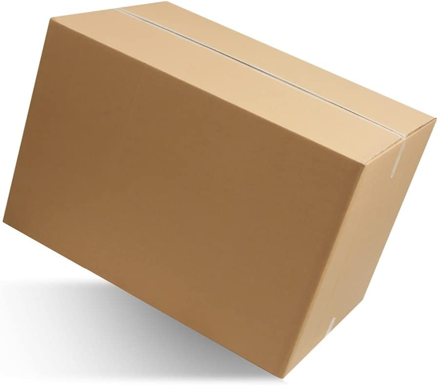 40 pezzi SCATOLA DI CARTONE imballaggio spedizioni 60x40x40cm  scatolone avana !