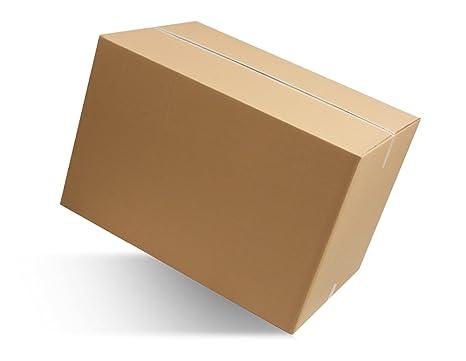 imballaggi2000 Caja de Cartón Doble Onda the 60 X 40 X 40 Traslado Traslados 15 Piezas
