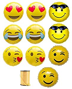 Amazon.com: Emoji Heart Eyes, Laugh Out Loud, Blow a Kiss