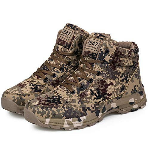 Amazon.com: Lessonmart Camouflage Military Boots Men Shoes Winter Warm Safety Shoes Windproof Men Boots Antis Snow Boots Flat Zapatos de Hombre: Kitchen & ...