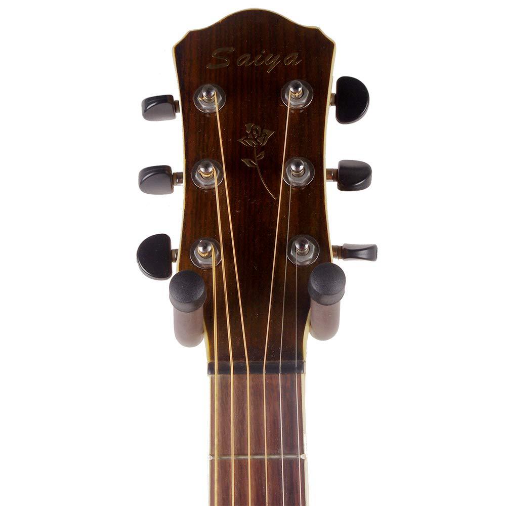2 pack GLEAM Guitar Hanger Wall Mount Bracket Holder