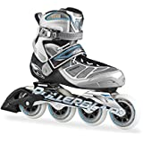 Rollerblade 15 TEMPEST 90C High Performance Fitness/Training Skate with 4x90mm Supreme Wheels