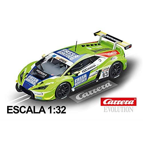 - Carrera 27589 Lamborghini Huracán GT3 Imperiale Racing Team No. 63 1:32 Scale Analog Evolution Slot Car Racing Vehicle