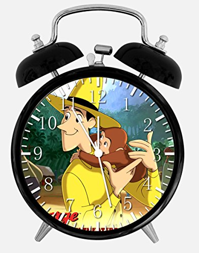 Curious George Alarm Desk Clock 3.75
