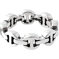 [ホーセンブース] HOORSENBUHS DAME TRI LINK トライリンク リング 指輪 シルバー 【並行輸入品】