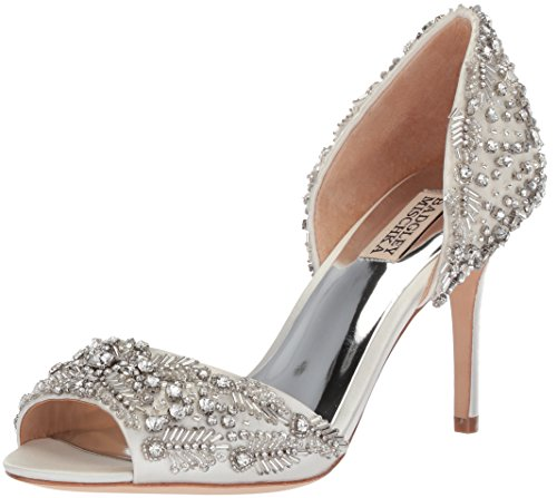 Badgley Mischka Women's Shaina Pump White sale genuine lowest price cheap online store with big discount excellent for sale Inexpensive online op9rhTh