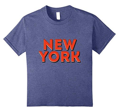 Kids New York City NYC Souvenir Unisex T-shirt 10 Heather - Avenue York Broadway New City