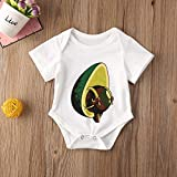 Newborn Baby Girl Boy One-Piece Romper Round Neck
