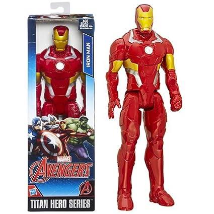 Amazon.com: Avengers Titan Hero Series Iron Man – Figura de ...
