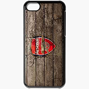 Personalized iPhone 5C Cell phone Case/Cover Skin Arsenal Black by supermalls