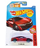 Hot Wheels 2016 Then and Now '17 Acura NSX 108/250, Maroon