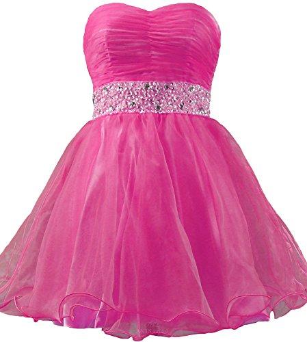Homecoming Pink Mini Dresses Cocktail Prom 50's Beaded Short Belt ANTS Hot wpHqxSXf