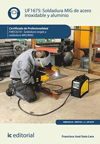 Amazon.com: Soldadura MIG de acero inoxidable y aluminio. FMEC0210 ...