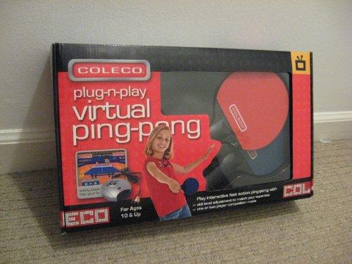 Coleco 82200 Plug N Play Virtual Ping Pong product image