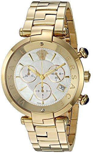 Versace-Rvive-Chrono-Swiss-Quartz-Stainless-Steel-Casual-Watch-ColorTwo-Tone-Model-VAJ060016