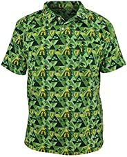 Unique Baby Boys St Patricks Daddy and Me Clover Print Polo Shirt