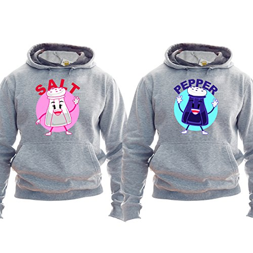 Couple Sudadera Salt And Pepper Gift For Husband Gift For Wife