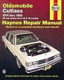 car accesories dvd - Oldsmobile Cutlass '74'88 (Haynes Repair Manuals)