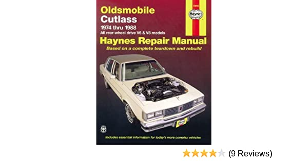 Oldsmobile cutlass 7488 haynes repair manuals haynes oldsmobile cutlass 7488 haynes repair manuals haynes 0038345006586 amazon books fandeluxe Choice Image