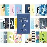 Monolike Postcards - Alpabet mix 26 pack