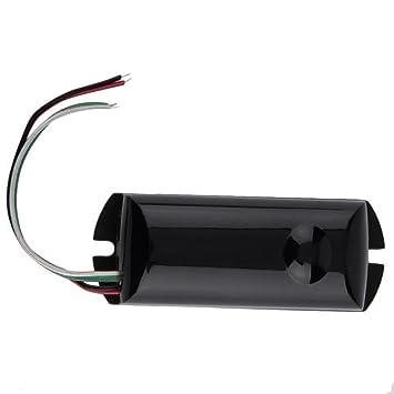 Detector de barrera infrarrojo infrarrojo de vigas individuales cableado Nuevo sensor de movimiento al aire libre