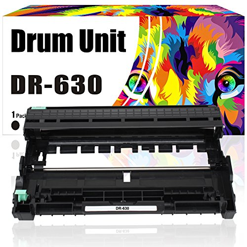 Drum Unit DR-630 High Yield Black Replacement Brother DR 630 Drum Unit for Brother MFCL2740DW MFC-L2740DW MFC-L2700DW DCP-L2540DW DCP-L2520DW HL-L2340DW HL-L2300D, 12000 Yield, Packaging May Vary 12000 Yield Drum Unit