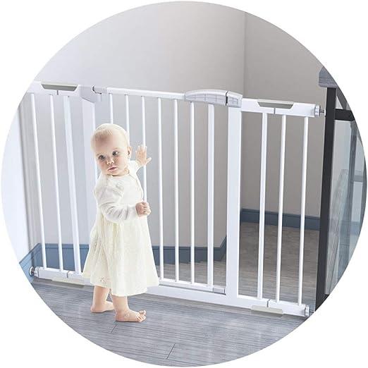 QIANDA Barrera Seguridad Niños Protector Escaleras Bebe Ajustable ...