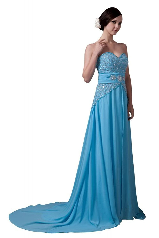 GEORGE BRIDE Latest Design Elegant Long Strapless Impressive Prom Dress