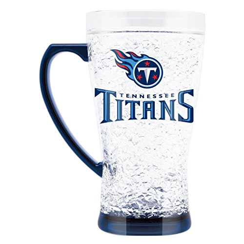 Tennessee State Duck - NFL Tennessee Titans 16oz Crystal Freezer Flared Mug