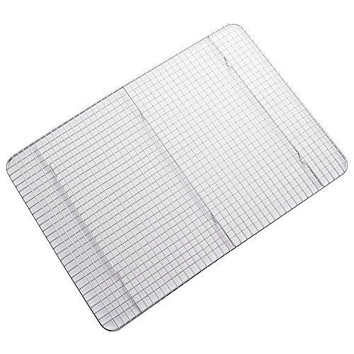 ZESPROKA Stainless Steel Cooling Rack, Baking Rack, Grid Design, 11.8 x 16.9