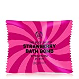 The Body Shop Strawberry Bath Bomb, Fizzing Bubble Bath, 28g