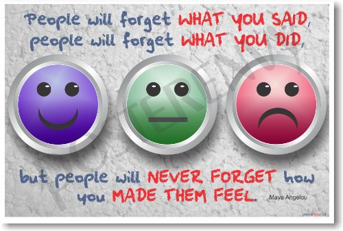 People Forget Never Feel Angelou product image