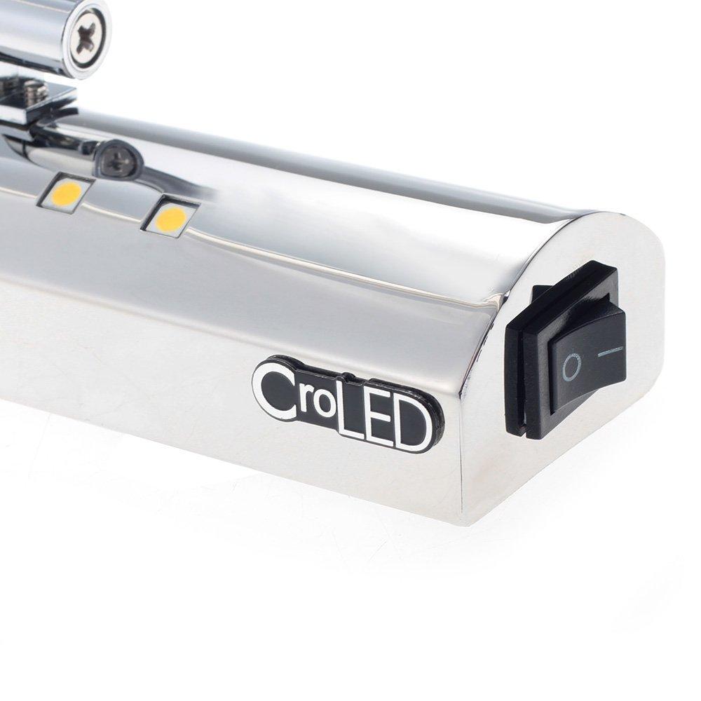 G9/Lampe f/ür Badezimmer Spiegel CroLED LED
